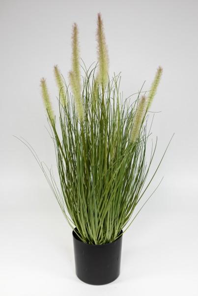 Fuchsschwanzgras 60x36cm grün CG Kunstpflanzen Dekogras Grasbusch künstliches Gras