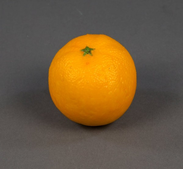 Künstliche Orange Apfelsine 9cm Feel Real GA Kunstobst künstliches Obst