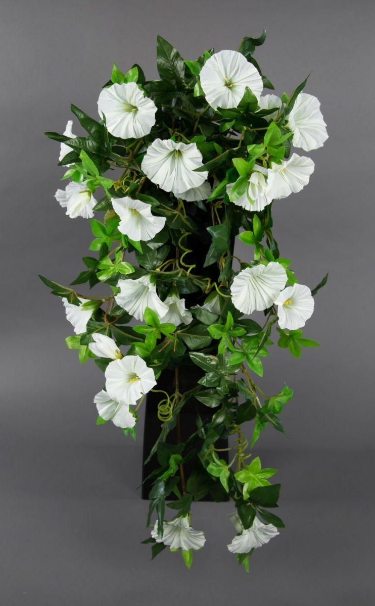 petunienranke 65cm wei zf kunstpflanzen k nstliche petunie pflanzen kunstblumen ebay. Black Bedroom Furniture Sets. Home Design Ideas