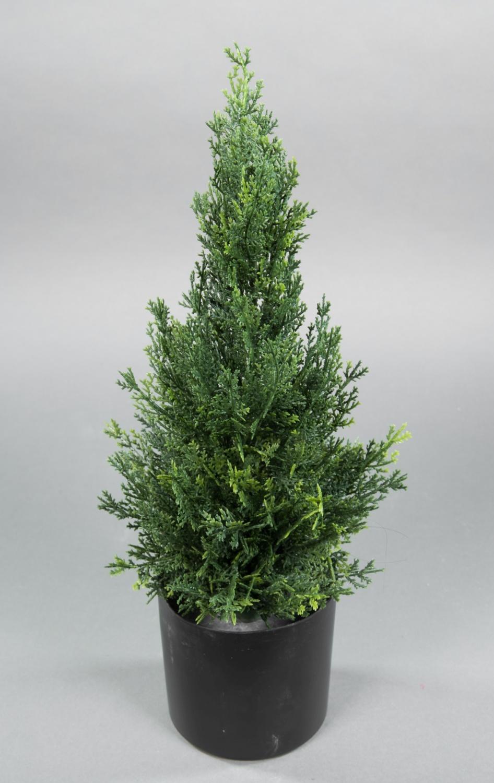 Konifere Natura 45cm grün LA Modell 2018 Kunstpflanze künstliche Thuja Zeder