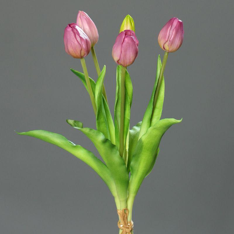 tulpenbund real touch 36cm rosa dp kunstblumen k nstliche blumen tulpen 4251341708483 ebay. Black Bedroom Furniture Sets. Home Design Ideas